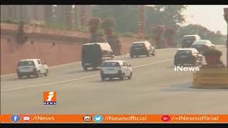 Security Tightened To PM Modi On His Jaipur Tour | iNews - INEWS