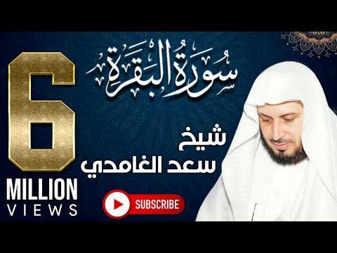 الشيخ سعد الغامدي - سورة البقرة - عربي تيوب