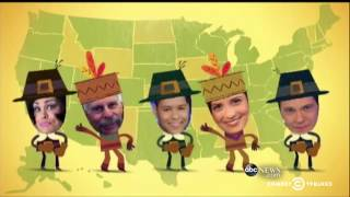 The Daily Show - Trevor's Thanksgiving Thankstacular Round-Up - COMEDYCENTRAL