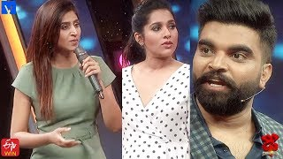 Pradeep Hilarious Punches on Varshini  - Dhee Champions (#Dhee 12) - 18th March 2020 - MALLEMALATV