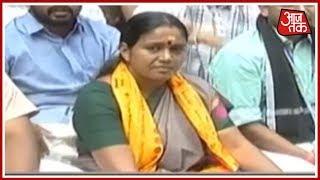 'We Are Protesting Peacefully' Kerala BJP's Shobha Surendran Tells Aajtak - AAJTAKTV
