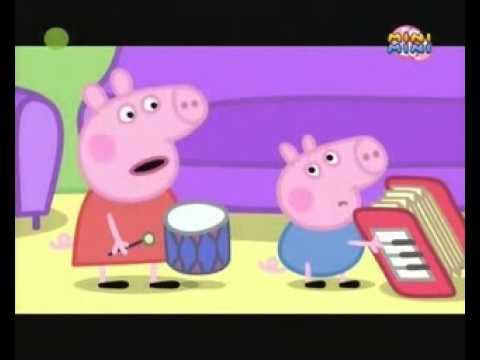 Peppa   Instrumenty muzyczne