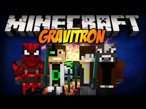 Minecraft Mini-Game: MANDZIO VS BLOW VS DELTI VS MULTI - Gravitron