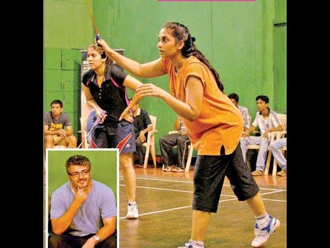 *Unseen Clip* - Shalini Ajith playing Badminton HD - Sivakasi