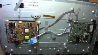 Ремонт телевизора LG 32LB563U. Нет подсветки. Разбор и диагностика.