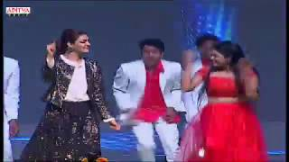 Bellamkonda Sreenivas, Kajal Dance on Stage @ Kavacham Audio Launch - ADITYAMUSIC