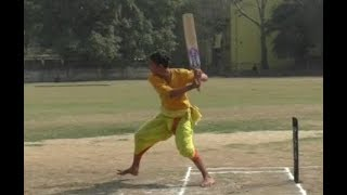 Unique Cricket match in Varanasi, cricket was played in Dhoti, Kurta & with Sanskrit commentary - ZEENEWS