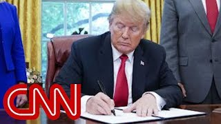 Trump signs executive order to end family separations - CNN
