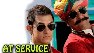 Aamir Khan turns chauffer for Sanjay Dutt - EXCLUSIVE | PK Movie