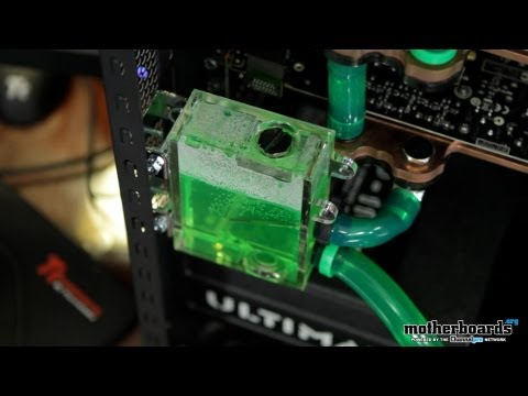 "Epic Water Cooled Dual GTX 560 SLI ""Godzilla"" Gaming System"