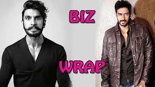 Bollywood's business stories of the week - Ranveer Singh and Ajay Devgn