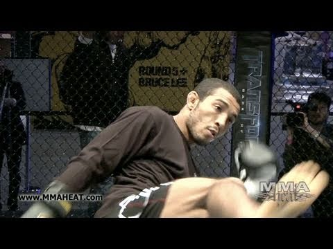 Featherweight Champ Jose Aldo + Mark Bocek: UFC 129 Workout