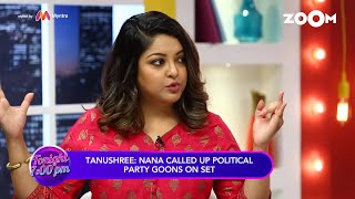 Tanushree Dutta calls POLITICAL PARTY as GUNDA Party & REVEALS her controversy | Exclusive Interview - ZOOMDEKHO
