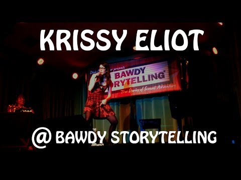 Krissy Eliot Performs Her Story at Bawdy Storytelling (04-09-2014)