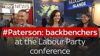 #Paterson: backbenchers at the Labour Party conference - SKYNEWS