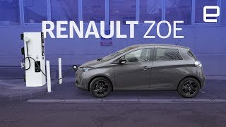 Renault Zoe 180-mile range EV hands-on - ENGADGET
