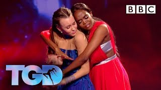 Ellie duets with Oti in inspirational performance - The Greatest Dancer Final | LIVE - BBC