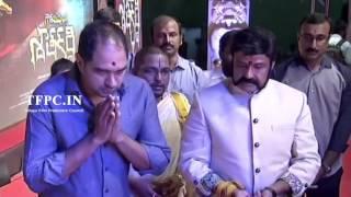 Nandamuri Balakrishna Gautamiputra Satakarni Movie Opening Video | TFPC - TFPC