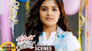 Nivetha Thomas Birthday Celebrations in MMTS Train | Juliet Lover of Idiot Telugu Movie Scenes - MANGOVIDEOS