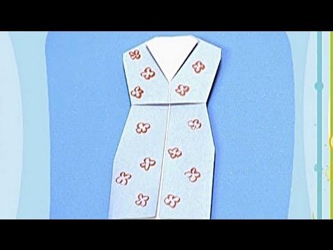 Çocuklar İçin Origami Dress (Öğretici) – Kağıttan Arkadaşlar 16