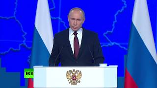 We don't want confrontation with US, but our partners continue their unconstructive policy – Putin - RUSSIATODAY