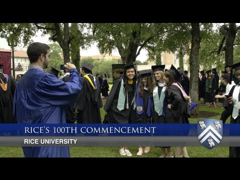 Rice University's 100th commencement