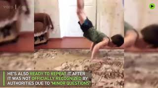 This 5yo Chechen reportedly can do 4k+ push-ups without a break - RUSSIATODAY