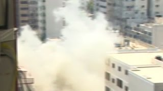 CNN reporter has a close call in Gaza - CNN