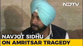 Will Adopt Children Who Lost Parents In Amritsar Tragedy: Navjot Sidhu - NDTV