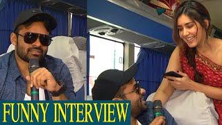 Sai Dharam Tej FUNNY INTERVIEW About Prathi Roju Pandage Movie | Raashi Khanna | TFPC - TFPC