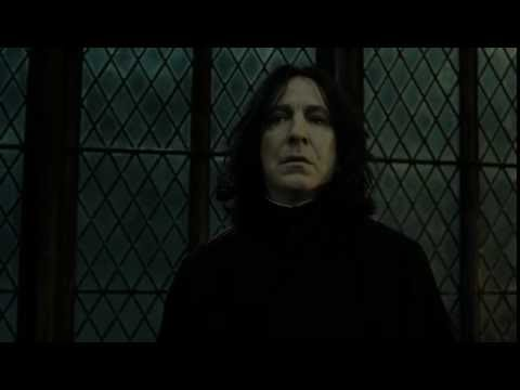 Voldemort discusses the loyalty of the Elder Wand with Snape.