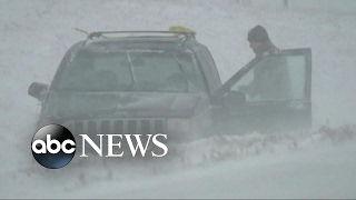 Severe winter storms moving across the Midwest tonight - ABCNEWS