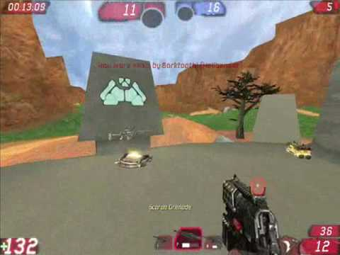 Unreal Tournament 3 Halo Map Weapons Mod gameplay