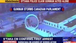 Ottawa shooting: CCTV footage of Canada's parliament attack out - NEWSXLIVE