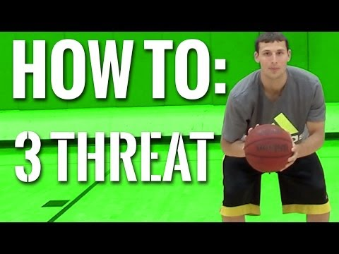 Basketball Fundamentals and Tips - How To Triple Threat | Jab Step | Footwork | Offense