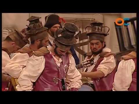 Sesión de Preliminares, la agrupación Los estorninos coloraos actúa hoy en la modalidad de Chirigotas.