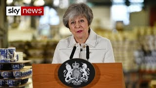 Theresa May: UK more likely to stay than leave with no deal - SKYNEWS