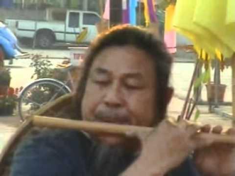 บรรเลงขลุ่ยผิวเพลงกระบี่ไร้เทียมทานโดยอาจารย์สมศักดิ์ เกตุเพชร