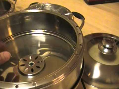 Electric Steamer Cooking Recipes on Video