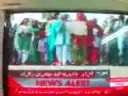 Allied Hospital Doctors protesting: Express News