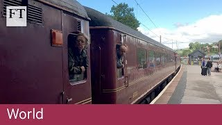Vintage train gets tourists on track amid UK rail chaos - FINANCIALTIMESVIDEOS