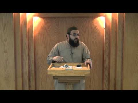 Friday Khutbah - 6/15/2012