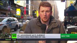 Terror attempt in NY: Police confirm Manhattan attacker influenced by ISIS - RUSSIATODAY