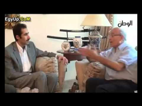 أحمد شفيق : أنا بكره مرسي ونفسي أضربه بالسكينه