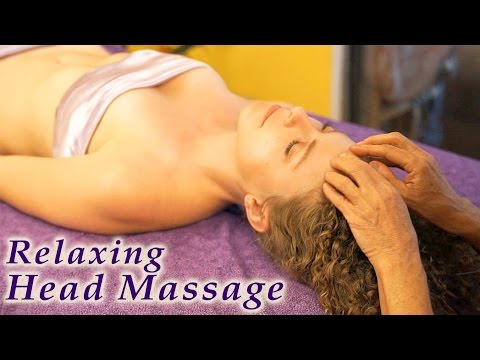 Relaxation Massage Therapy Techniques Head, Upper Body & Scalp by Athena Jezik