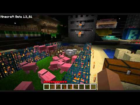 Minecraft - Outside the Blocks Episode 1: 3 men and a Star Destroyer