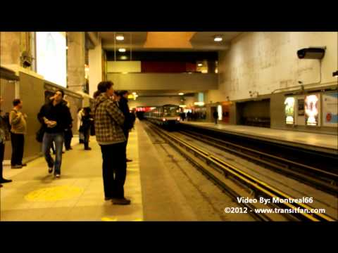 Montreal Metro: Station Berri-UQAM [HD]