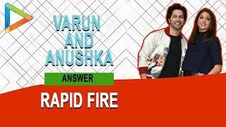 "Varun Dhawan: ""I would LOVE to go on a road trip with The ROCK"" | Anushka Sharma | Sui Dhaaga - HUNGAMA"