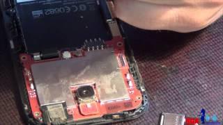 Ремонт HTC Desire SV. Замена сим приемника.