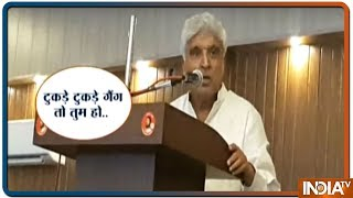 Javed Akhtar campaigns for Kanhaiya Kumar in Begusarai - INDIATV